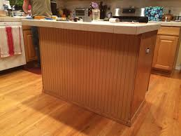 wainscoting kitchen island how to install beadboard around kitchen island beadboard kitchen