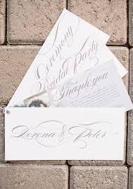 beautiful wedding programs classically pink and black wedding