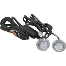 led strobe light kit buyers products hidden led strobe light 2 pc set white light