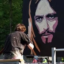 dave santia speed painter original artwork le concours de