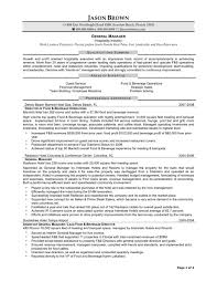 hotel manager resume samples resume peppapp