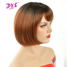 hair products for pixie cut deyngs pixie cut ombre red bob wigs for black women short straight