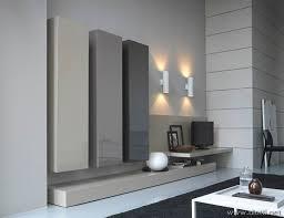 mensole laccate lucide soggiorno in laccato lucido in 4 tonalit罌 di grigio diotti a f