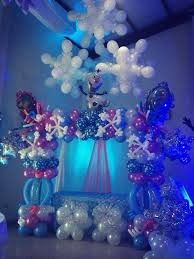 Table Decorating Balloons Ideas Best 25 Frozen Balloon Decorations Ideas On Pinterest Frozen
