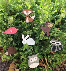 diy woodland creature ornaments the