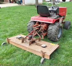 snapper massey ferguson 1855 lawn mower item k1335 sold