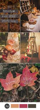 wedding ideas for fall top 10 fall wedding color ideas for 2017 trends weddings