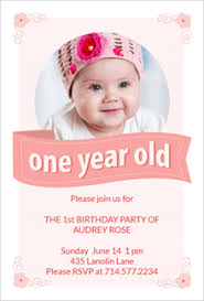 free printable 1st birthday invitation templates greetings island