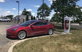 tesla model 3 first test drives hit the road in the u s
