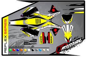 motocross helmet wraps suzuki primal x motorsports motocross graphics atv graphics