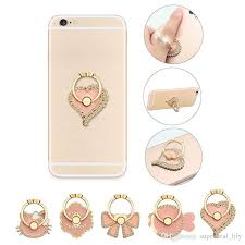 metal fish ring holder images Shop cell phone mounts holders online universal 360 degree pink jpg
