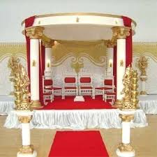 indian wedding mandap prices indian wedding mandap at rs 150000 set fibre mandap