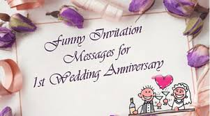 wedding quotes cousin invitation messages for 1st wedding anniversary