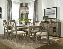 7 Pc Dining Room Sets by 7 Piece Dining Set With Leg Table With 1 18 Inch Extension Leaf
