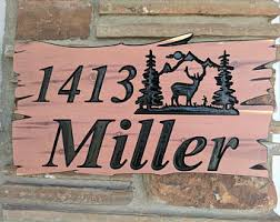 Personalized Wood Signs Home Decor Outdoor Wood Sign Etsy