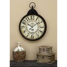 wall clocks n a wall clocks wall decor the home depot