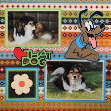 Dog Scrapbook Album Everyday Life Scrapbook 1 Me And My Cricut