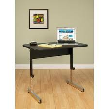 Executive Stand Up Desk by Height Adjustable U0026 Standing Desks You U0027ll Love Wayfair
