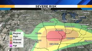 Weather Map Chicago by Holiday Weekend Includes Potential Severe Storm Threat