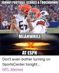 Johnny Football Meme - johnny football scores atouchdown meanwhile at espn don t even