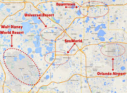 Universal Park Map Getting Around The Orlando Theme Parks The Trusted Traveller
