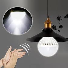 3 bulb light fixture buy e27 auto sound sensor led globe bulb light l 3 5 7 9 12w 110v