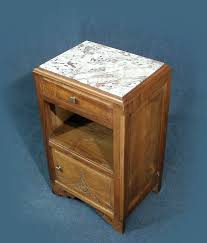 a wonderful french art deco marble top bedside cabinet pot