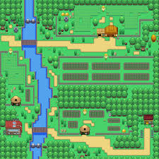 safari zone map flora sky region flora sky