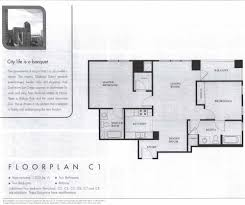 1 Bedroom Condo Floor Plans by Acqua Vista Condos Downtown San Diego Condos