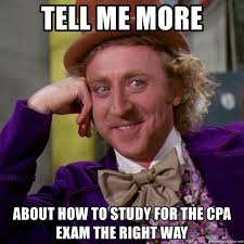 Cpa Exam Meme - tell me more about how to study for the cpa exam the right way