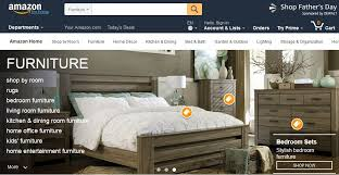amazon online furniture sales reported up by 50 percent