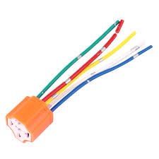 relay socket car relay orange plastic replacement relay socket