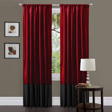 black and red bedroom curtains ideas for basement bedrooms that answer could work beautifully for adults this example has the baby s cot proper underneath for fast accessibility and