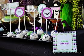 Halloween Themed Cake Pops by Halloween Party Themes Monster Mash Free Printables