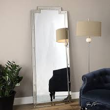 Bevelled Floor Mirror by Amazon Com Oversized Full Length Venetian Art Deco Mirror Floor