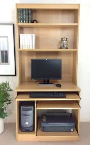 Home Computer Desk With Hutch by Home Office Furniture Uk Computer Workstation Desk Hutch Bookcase