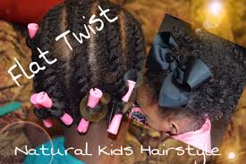 natural hair styles for little girls flat twist u0026 3 styles ft