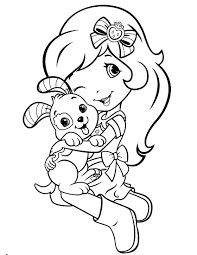 strawberry shortcake princess coloring pages funycoloring