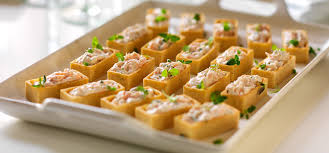 canape cups recipes philadelphia recipe smoked salmon canapes with chives and