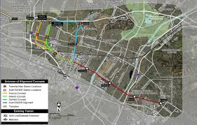 Elac Map How Could Metro Improve Its Gold Line Extension Plans Urbanize La