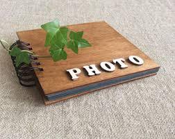 Photo Album Black Pages Friends Photo Album Etsy
