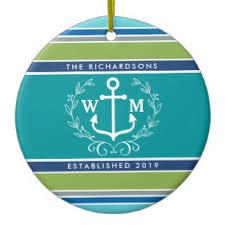 anchor logo ornaments keepsake ornaments zazzle