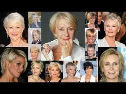 haircuts for women over 50 with fine hair pixie short hairstyles for women over 50 with fine hair over 50