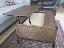 coffe table view rustic lift top coffee table decoration ideas