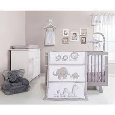 Crib Bedding Sets Unisex Baby Crib Bedding Set Unisex Neutral Safari Animals Elephant