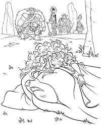 Disney Coloring Pages Disney Brave Coloring Pages