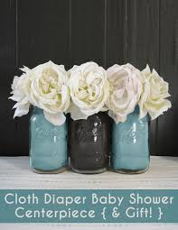 chic cloth diaper centerpiece tutorial