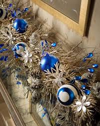 Christmas Decorations In Blue And Brown by 40 Fresh Blue Christmas Decorating Ideas Family Holiday Net