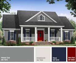 Luxury Exterior Homes - teal exterior paintcolors free combo exterior house paint color