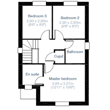 hatfield house floor plan 3 bed detached house for sale in
